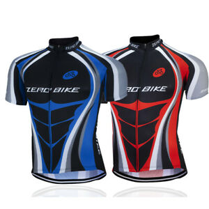 Men's Bicycle Outfits Cycling Jersey Bike Bicycle Short Sleeve Set Outdoor uk