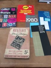 Reliant 1943 Stamp Catalogue, Plus Other