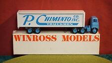 Winross Diecast Metal 1/64 truck P. Chimento Truckmen Company-Cargo-1979