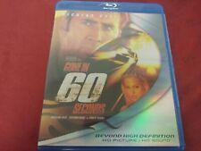 GONE IN 60 SECONDS NICOLAS CAGE ANGELINA JOLIE ROBERT DUVALL BLURAY DVD PG13