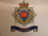 2  ROYAL CORPS OF TRANSPORT VETERAN STICKERS   BRITISH ARMY MILITARY 5""