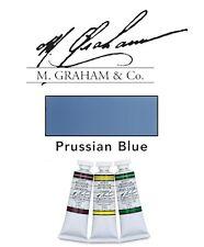 M Graham Watercolor 15ml Tube Prussian Blue 33-153