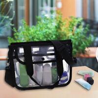 Premium Clear Makeup Artist Organizer EVA Toiletry Bag Transparent Cosmetic Bag