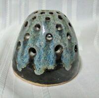 Vintage Pottery Dripware Incense Burner