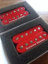 Seymour Duncan SH-4 JB and SH-2n Jazz Hot Roded Humbucker Pickup Set RED New