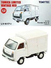 TOMYTEC TOMY TOMICA LIMITED Vintage LV-N17a Honda TN-V Panel Van white 1:64