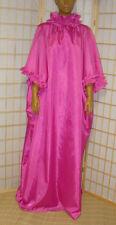 ADULT NylonKleid Nachhemd Hauskleid Cape Friseurumhang ZofenkleidTransperant