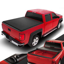 PICKUP TRUCK VINYL ROLL-UP SOFT TONNEAU COVER FOR 07-18 TOYOTA TUNDRA 6.5' BED