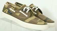Sperry Top-Sider Penfield 9296302 Camo Casual Boat Shoes Women's US 9 M