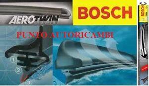 SET COPPIA SPAZZOLE ANTERIORI FIAT 500 07/07-> BOSCH AEROTWIN