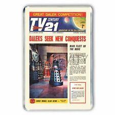 THUNDERBIRDS Doctor Who and the Daleks TV 21 COMIC COVER #23 JUMBO FRIDGE MAGNET