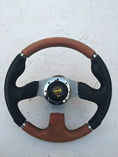 MOMO LEATHER STEERING WHEEL OFF VAUXHALL CALIBRA