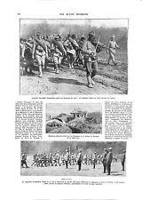 WWI Marastii Romania Army Roumanie Soldats General Averescu Violon ILLUSTRATION