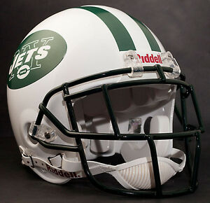CURTIS MARTIN Edition NEW YORK JETS Riddell AUTHENTIC Football Helmet NFL