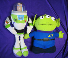 Disney Toy Story 3-eyed Alien and Buzz Lightyear Stuffed Toys