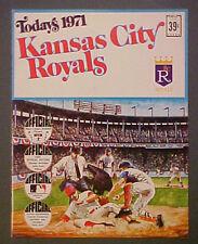 1971 K.C. Royals Dell MLB Baseball Memorabilia Photo Stamps Team Booklet Set-