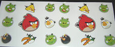 18 Angry Bird Stickers iPad iPhone Murs Voiture Vélo vinyl decals Free P & p