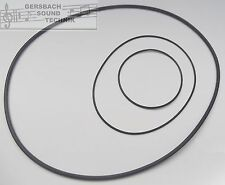 belt set Grundig Tk 121 Rubber drive belt kit