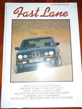 Fast Lane Sep 1984 Alpina 3.5 B9, Porsche 911 Turbo vs Countach vs Esprit Turbo