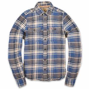 Hollister California Herren Hemd Shirt Gr.M Pacific Mercmants Flannel 107093