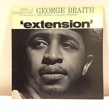 GEORGE BRAITH - Extension - LP Blue Note Original Vinyl Records