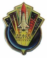 Original End of the Space Shuttle Program Pin 1981-2011 Official Nasa Edition