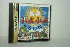 PUYO PUYO SUN COMPILE USATO OTTIMO SEGA SATURN EDIZIONE JAPAN NTSC/J VBC 51125