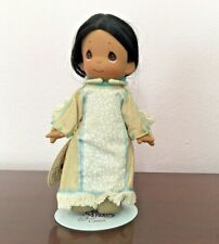 Precious Moments Vintage 2000 Five Little Indian Collectible Doll W/Stand & Tags