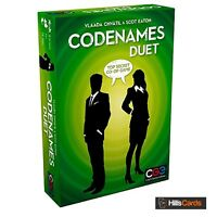 Codenames DUET Version: Party Game by Vlaada Chvatil Card, Word, Tile CGE00040