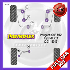 2008-on PFF50-601 Powerflex cespugli PEUGEOT 3008 ANTERIORE BRACCIO ANTERIORE Bush Confezione da 2 a
