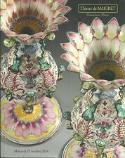THIERRY de MAIGRET Chinese Enamels Collection 18C Furniture WOA Catalog 2014