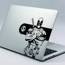 "DEADPOOL Apple MacBook Decal Sticker fits 11"" 12"" 13"" 15"" & 17"" models"