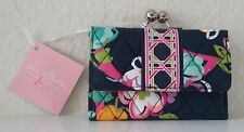 Vera Bradley Small Kisslock Wallet - Ribbons - New With Tags!