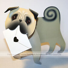 """3D Special Delivery Greeting Card - Dog """"Monty"""" - SD-107"""