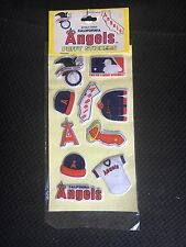 California Angels MLB 1983 IMPERIAL puffy stickers sealed NO INK PRICE TAGS RARE
