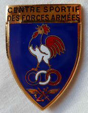 INSIGNE CENTRE SPORTIF DES FORCES ARMEES MATRICULE ORIGINAL EMAIL DRAGO SPORT