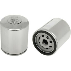 Oil Filter Chrome Harley Davidson - HF171CRC