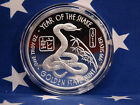 GSM 2013 Year of the Snake Uncirculated 1oz Troy .999 Fine Solid Silver Coin USA