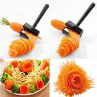 Home Spiral Vegetable Shred Slicer Spiralizer Fruit Cutter Peeler Kitchen Tools