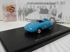 """AutoCult 07009 # VELAM Isetta Voiture de Record (F. 1957) """" hellblau """" 1:43 NEU"""