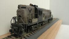 Kato HO JA981 set of 2 custom weathered fantasy line ALCO RS 11 diesel locos.