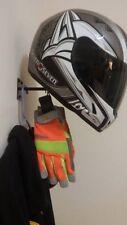 HELMET HANGER Motorcycle Helmet, Jacket Display and Storage Rack. 5 Colors   USA