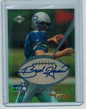 1999 COLLECTOR'S EDGE ODYSSEY BROCK HUARD RC AUTO BLUE INK 13/40 PRO SIGNATURES