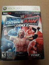 Smack Down vs Raw 2007 Special Edition XBox 360 NTSC