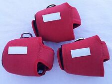 3 CUSTOM REELCOVER SIZE MN FOR ACCURATE BX500N AVET MXJ DAIWA SHIMANOREEL RED