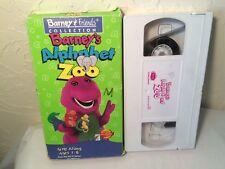 Barney Alphabet Zoo  (VHS, 1994)  Dinosaur