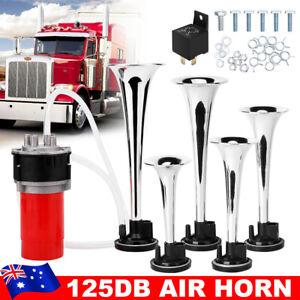 5pcs 125DB Trumpet Musical Air Horn Dixie Dukes Of Hazzard Electronic Compressor