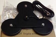 "Taurus Triple 5"" Magnet Mount with NMO connector and 17ft Coax - Heavy Duty!"