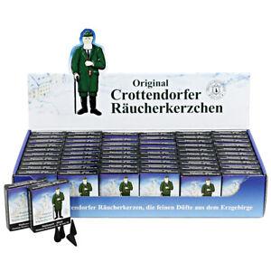 Original CROTTENDORFER RÄUCHERKERZEN Größe XS = Minis / Räucherkerzchen 24er