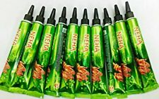 5 x NEHA Instant Dark Red Henna Paste Tubes - 25gm Each